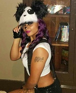 Seductress Panda Homemade Costume