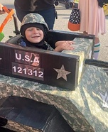 Sergeant Liam and his platoon Homemade Costume