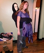 Serial Killer and his Victim Illusion Costume
