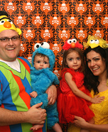 Sesame Street Family Halloween Costume