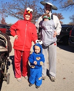 Sesame Street Gang Homemade Costume