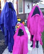 Sesame Street Yip Yip Family Homemade Costume