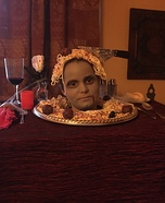 Severed Head on a Platter Homemade Costume