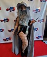 Sexy Gandalf Homemade Costume