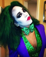 Sexy Joker Homemade Costume