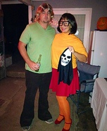 Shaggy and Velma Homemade Costume