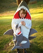 Shark Homemade Costume