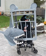 Diver in a Cage Homemade Costume