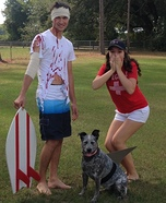 Shark Attack Couple Costume