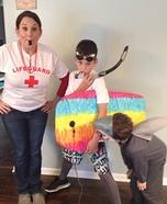 Shark Attack Family Costume Idea