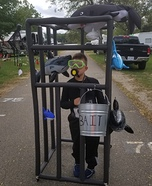 Shark Cage Diver Homemade Costume