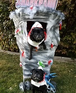 Sharknado - Pugnado Homemade Costume