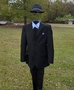 Sharp Dressed Invisible Man Homemade Costume