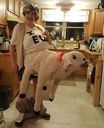 Sheep Shagger Homemade Costume