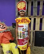 Shell Gas Pump Homemade Costume