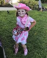 Sheriff Callie's Wild West Homemade Costume