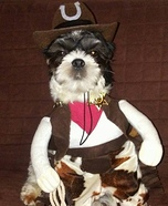 The Sheriff Dog Costume