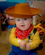 Sheriff Woody Baby Costume