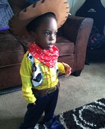 Sheriff Woody from Toy Story Costume