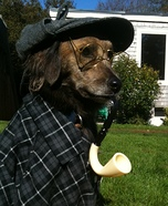 Sherlock Bones Dog Costume