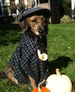 Sherlock Bones Homemade Costume