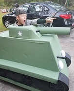 Sherman Tank Homemade Costume