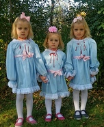 Shining Triplets Homemade Costume