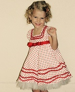 Shirley Temple Homemade Costume