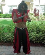 Sho Nuff the Shogun Homemade Costume
