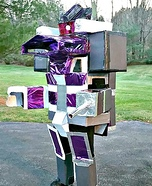 Shockwave the Transformer Homemade Costume
