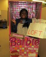 Shopaholic Barbie Homemade Costume