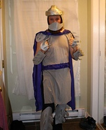 Shredder Homemade Costume