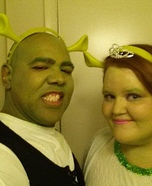 Shrek and Fiona Homemade Costumes
