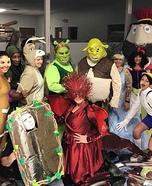 Shrek Group Homemade Costume