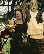 Shrek & Family Homemade Costume