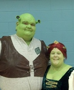 Shrek & Fiona Couple Costume