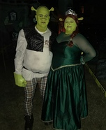 Shrek & Fiona Homemade Costume