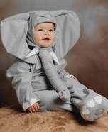 Shy Elephant Homemade Costume