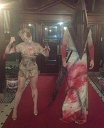 Silent Hill Nurse and Pyramid Head Couple Homemade Costume