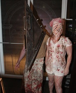 Silent Hill Pyramid Head and Nurse Homemade Costume