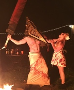 Silent Hill Pyramid Head and Nurse Costume
