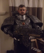 Silver Skull Space Marine Costume