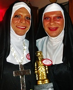 Sisters Dixie & Sofonda - Nuns Costumes
