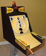 Skee Ball Machine Homemade Costume