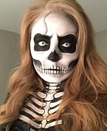 Skeleton Homemade Costume