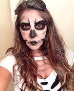 Homemade Skeleton Costume for Women
