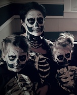 Skeleton Family Costume