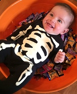 Skeleton Treat Costume