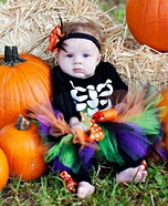 Skeleton Witch Baby Costume