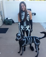 Skeletons Best Friend Homemade Costume
